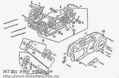 gy6发动机组成及详解(多图)下