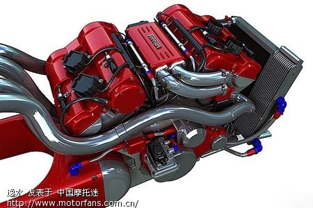 【概念】法拉利超级摩托高清图片