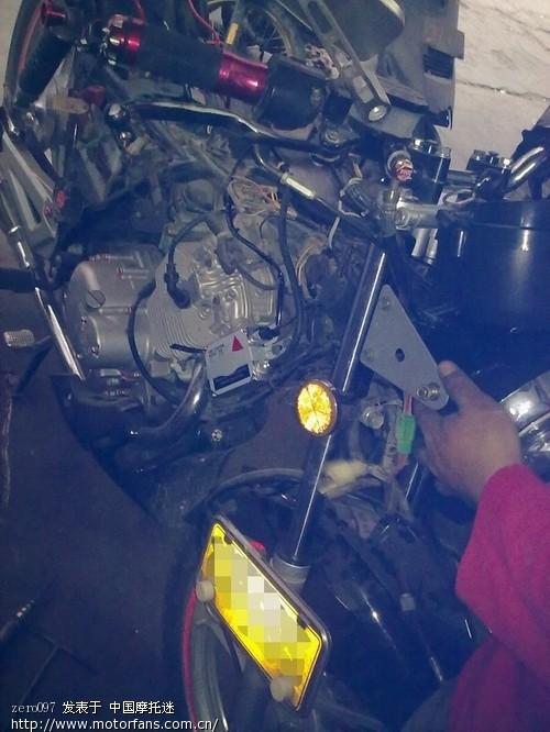 摩托车疝气灯接线图; 【钻豹大灯】豪爵钻豹大灯