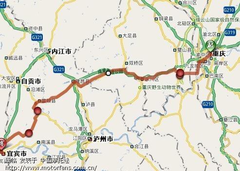 泸州到永川沿途风景区