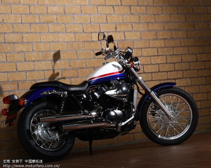 本田2011款vt400ss