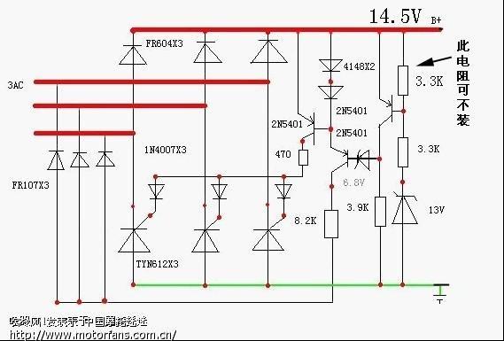 整流器的电路本来想搞一个开关整流