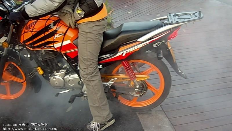 摩托车论坛 五羊本田-骑式车讨论专区 五羊本田-锋翼125 03 新锋翼