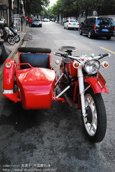 出售长江750边三轮摩托车侉子