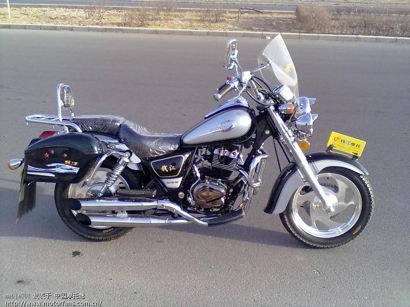我的摩托车是太子钱江qj250j,想把后轮胎改装成很宽的