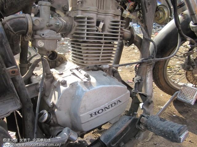 出一台新大洲本田cg125发动机图片