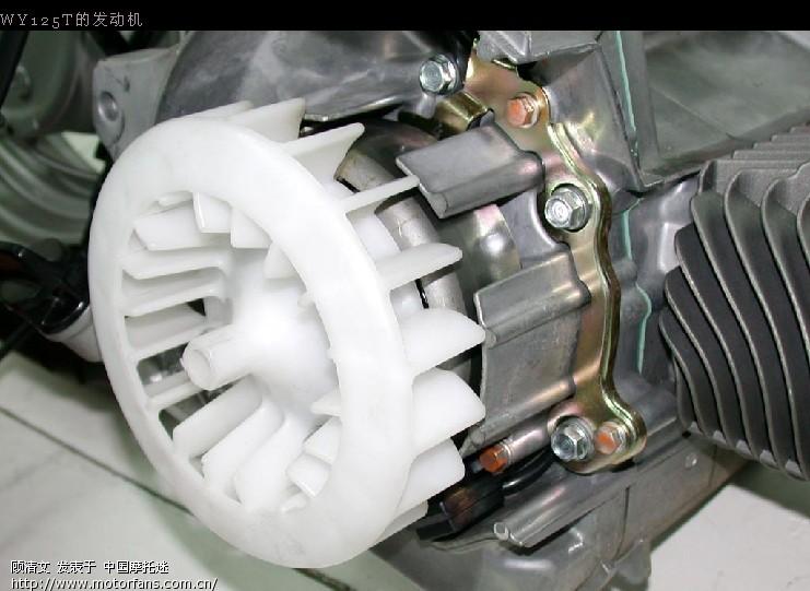 踏板车发动机大对碰:gy6