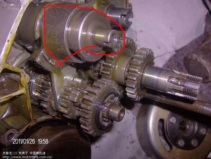请高手指教; ax100发动机结构_ax100发动机改装_ax100发动机分解图