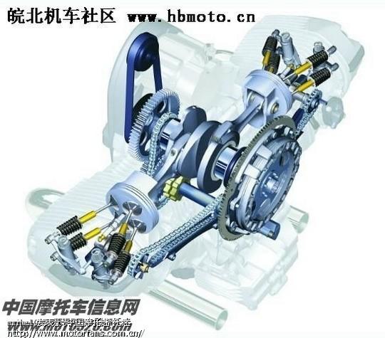 bmw拳击手发动机及机车结构图