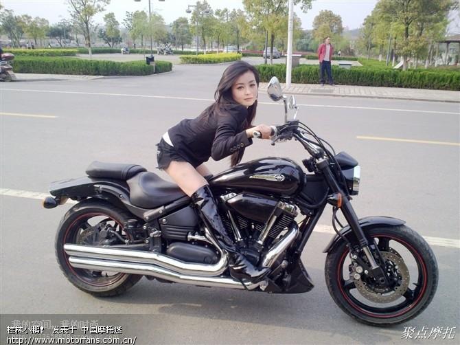美女vs摩托车 激情越野