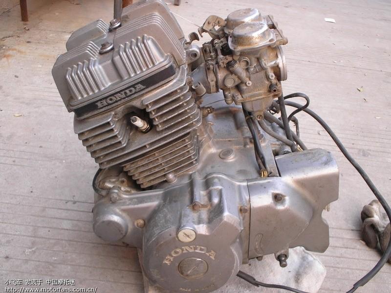 卖台本田cb125发动机图片