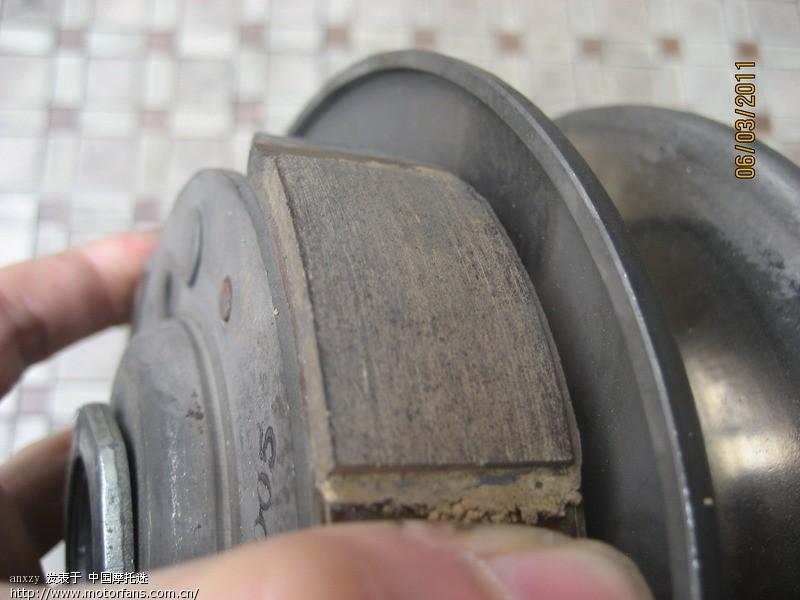 五羊本田踏板车离合器问题