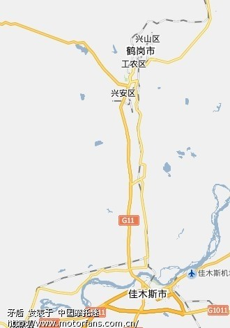 求:伊春——牡丹江最佳摩行路线(有图有真相最好)