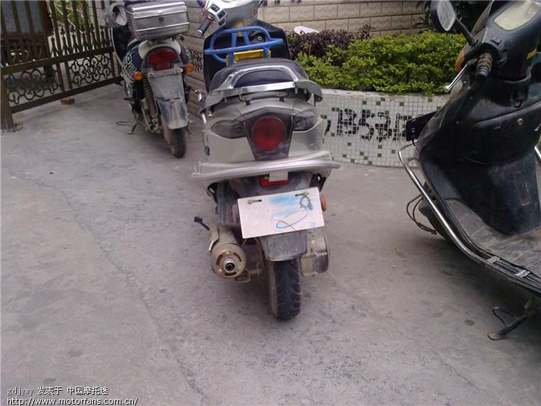 有谁见过这种发动机的踏板车