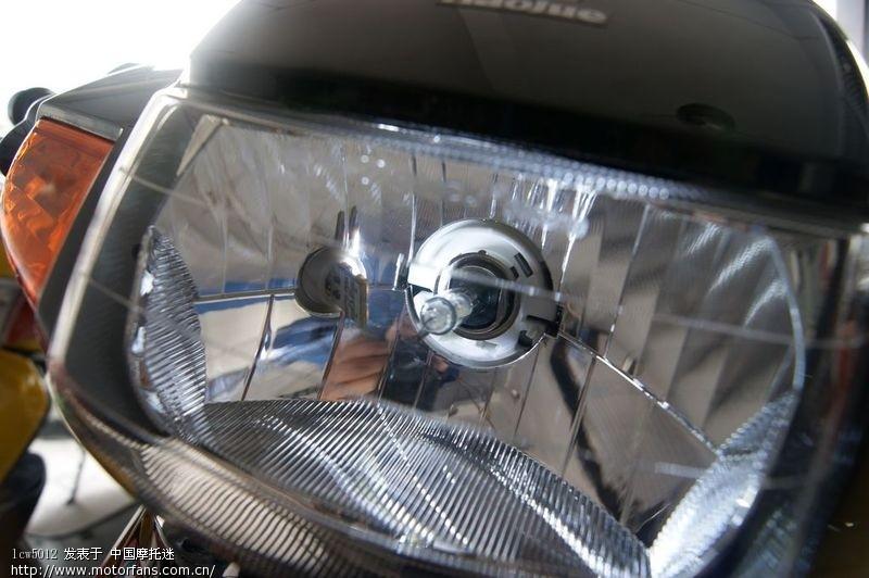 豪爵HJ110-A改氙气灯和LED 已更新尾灯改装和夜晚效果-豪爵HJ110