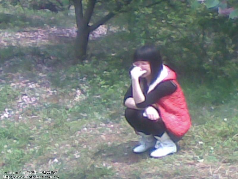 今天湘大看樱花 美女pp多多