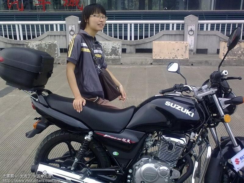 我的国三锐爽en-125-2f - 豪爵铃木 - 摩托车论-豪爵en125 2f 豪爵铃木图片