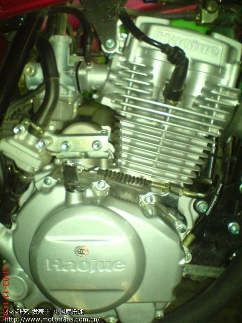 豪爵125k ╠2发动机结构图