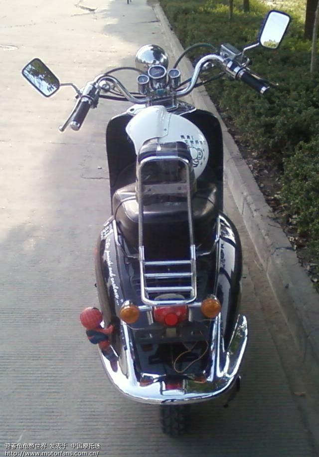 晒晒我的小绵羊 - 踏板论坛 - 摩托车论坛 - 中国第一