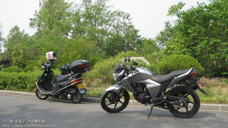 摩托车论坛 五羊本田-骑式车讨论专区 五羊本田-幻影150 03 合肥的