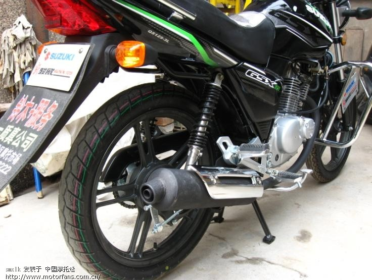 四月三十号入手qs125-3l开始学习骑摩托