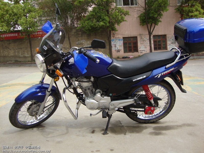摩托车论坛 摩托车论坛 03 湖北荆门的进  有辆6000公里的蓝色锋翼