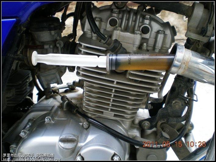 汽车机油孔位置示意图