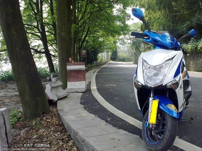求助 魔戟前牌照怎么安装 - 新大洲本田 - 摩托车论坛