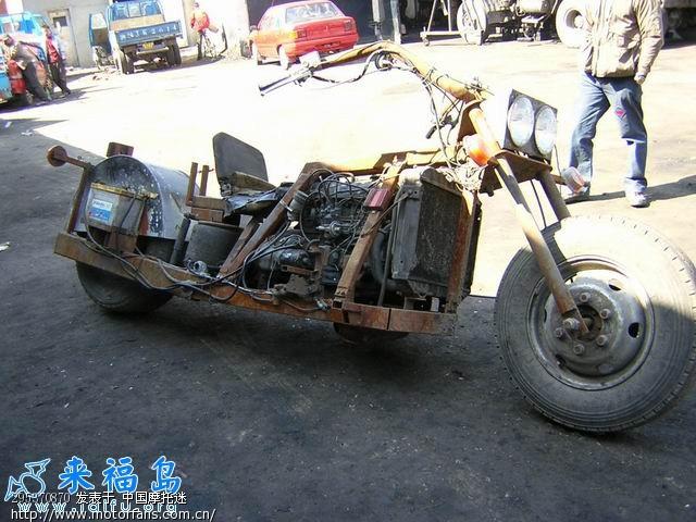 淘到一台宝马发动机,能装到摩托车上吗?