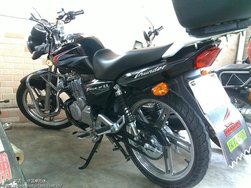 摩托车论坛 豪爵铃木-骑式车讨论专区 锐爽en 03 我的en125-3f