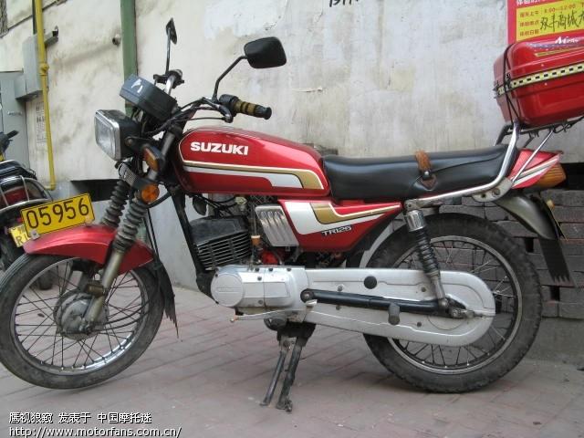 雅马哈150 铃木TR 125摩托车