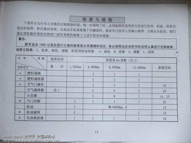 钱江龙150-19a规格参数和电路原理图
