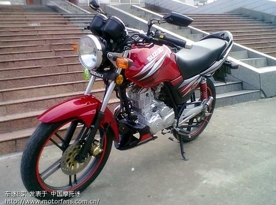 晒晒我的gsx125-3h` - 摩托车论坛 - 济南铃木 - 摩托