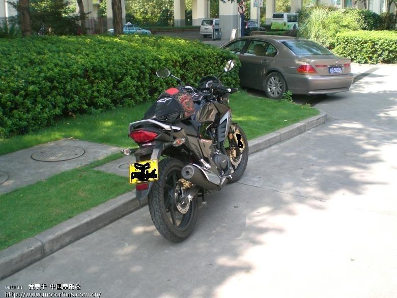 本田幻影轮胎150改装图片 五羊本田幻影150改装,本田幻影高清图片
