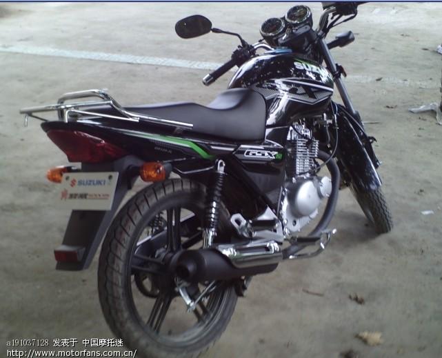 刚买的骏威gsx-125 - 摩托车论坛 - 济南铃木