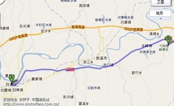 江西龟峰风景区地图