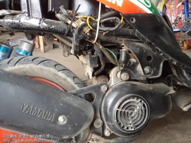 YAMAHA JOG50的基本维修 - 维修改装 - 摩托