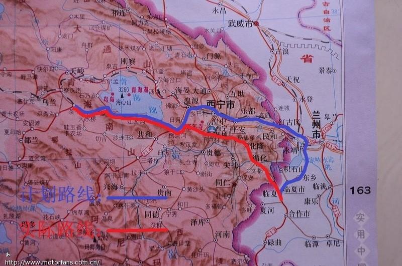 循化到西宁地图