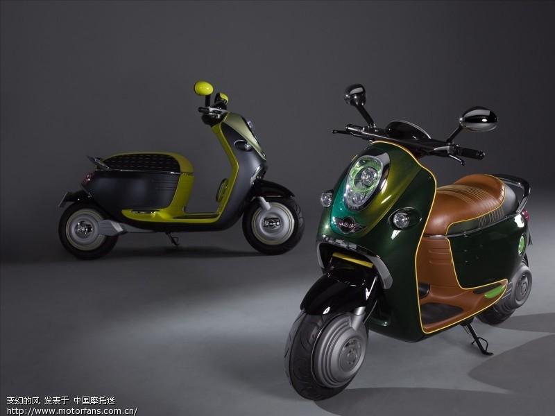 宝马迷你小电动超牛逼 进口品牌 宝马BMW 中国第一摩托车论坛 摩旅高清图片