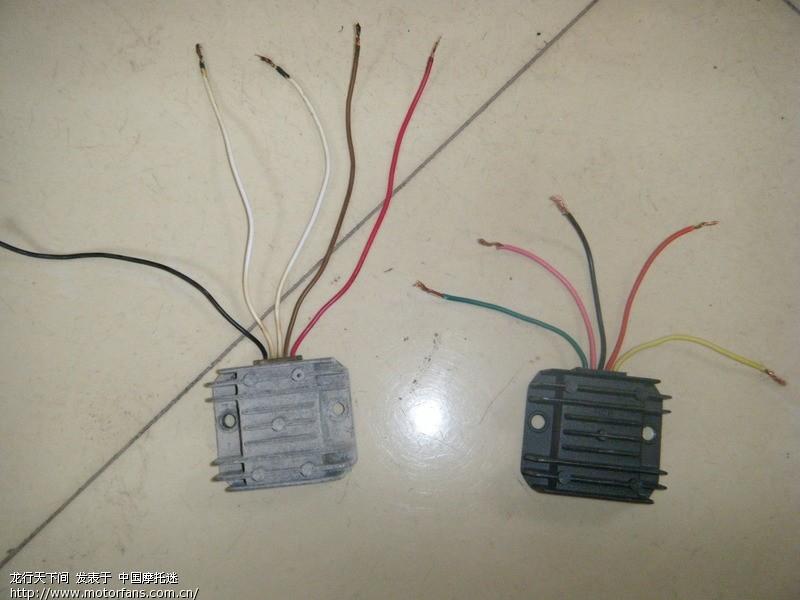多芯电线接法图解