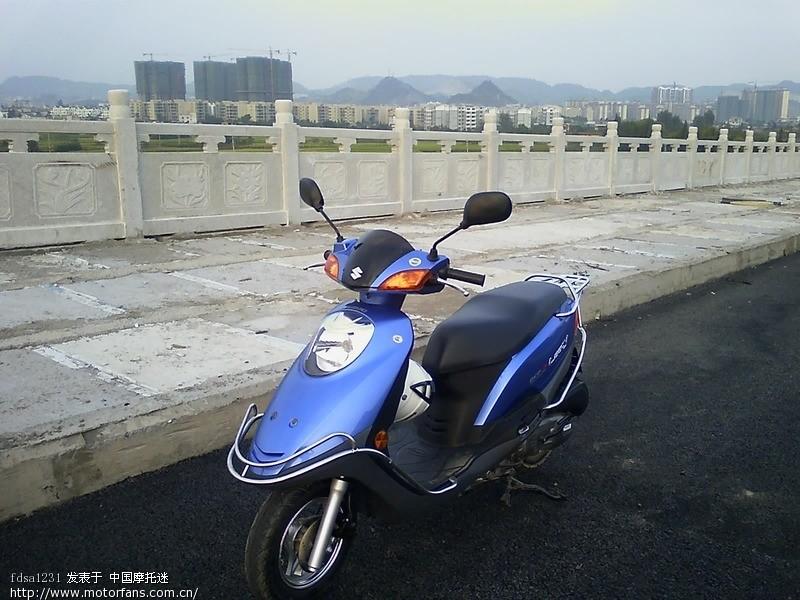济南铃木踏板车
