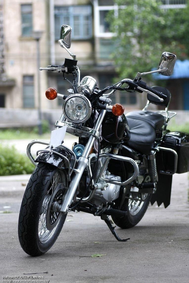 铃木美式太子摩托车_铃木150太子摩托车_铃木150太子摩托车画法
