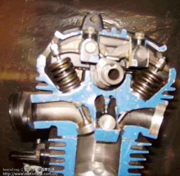gs125铃木发动机解剖图