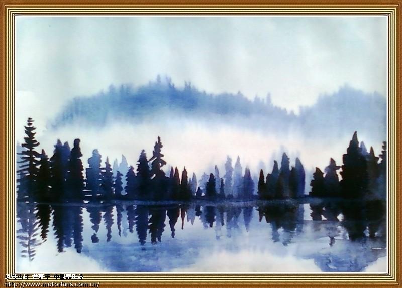 最近画的水彩画