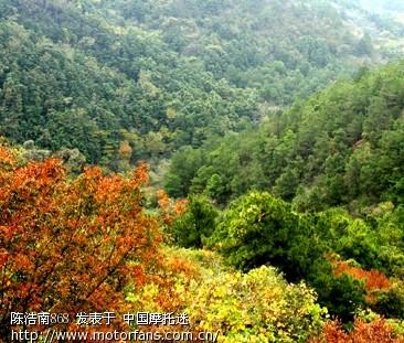 祖山风景区观光图