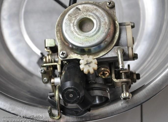 求购雅马哈迅光125 化油器 及其点火器