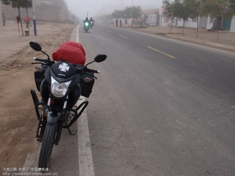 摩托车论坛 五羊本田-骑式车讨论专区 五羊本田-幻影150 03 吾之