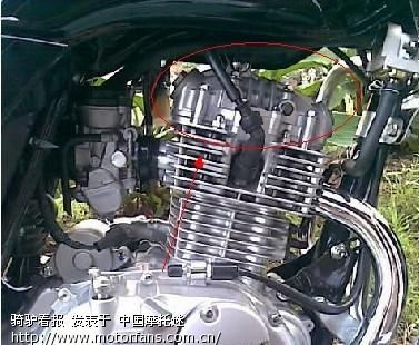 本田(125,150)otr发动机如何调节气门间隙?图片