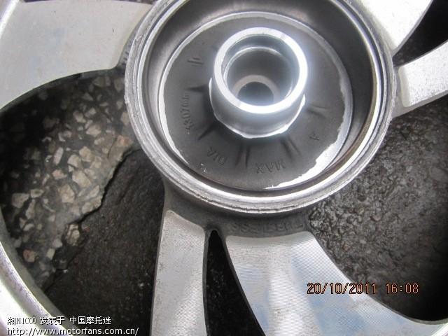轴承上的螺母怎么拆   在线求教:踏板车后轮无法拆卸!   汽车高清图片