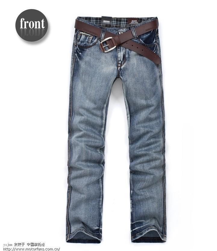 男士牛仔裤时尚精品牛仔裤磨白 摩迷交易区 时尚男装区
